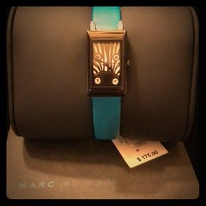 Marc by Marc Jacobs MBM2052 Turquoise Zebra Watch